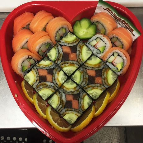 Ngo ngang voi nhung kiet tac 'moisac sushi' sieu hot tren Instargram - Anh 5