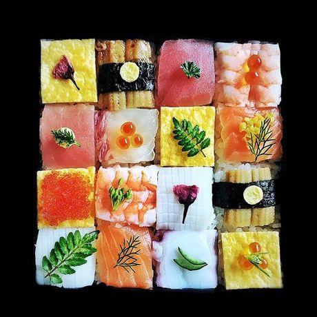 Ngo ngang voi nhung kiet tac 'moisac sushi' sieu hot tren Instargram - Anh 6