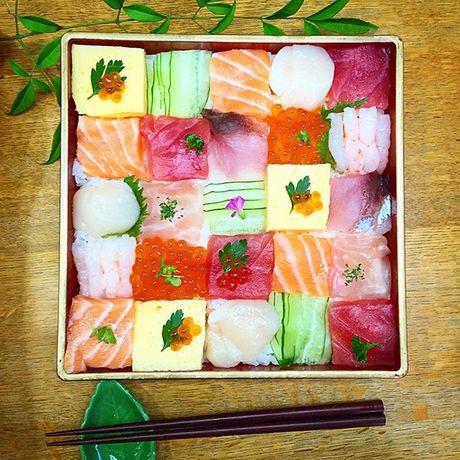 Ngo ngang voi nhung kiet tac 'moisac sushi' sieu hot tren Instargram - Anh 8