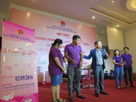 TP.HO CHI MINH: 100 cap doi se tham gia le cuoi tap the 2016 vao ngay 2.9 - Anh 3