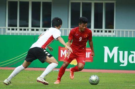 U19 VN 0-0 U18 Consadole (H1): VN da tan cong - Anh 1