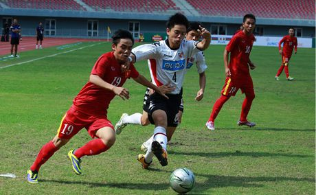 U19 VN 0-0 U18 Consadole (H1): VN da tan cong - Anh 3