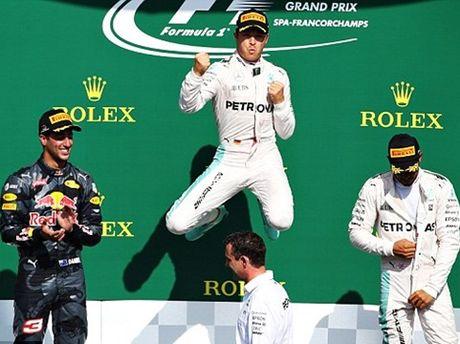 Grand Prix Bi: Nico Rosberg xuat sac ve nhat, Kevin Magnussen thoat nan than ky - Anh 2