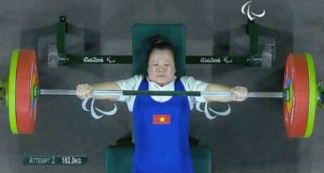 Paralympic: Thang Trung Quoc, VDV Viet Nam gianh HCD - Anh 1