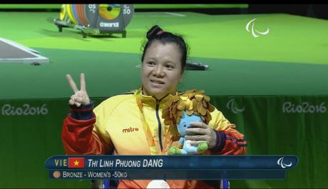 Paralympic: Thang Trung Quoc, VDV Viet Nam gianh HCD - Anh 3