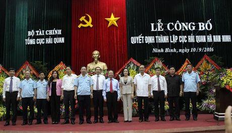 Cong bo Quyet dinh thanh lap Cuc Hai quan Ha Nam Ninh - Anh 1