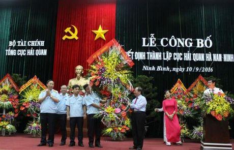 Cong bo Quyet dinh thanh lap Cuc Hai quan Ha Nam Ninh - Anh 2