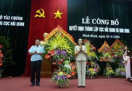 Cong bo Quyet dinh thanh lap Cuc Hai quan Ha Nam Ninh - Anh 3