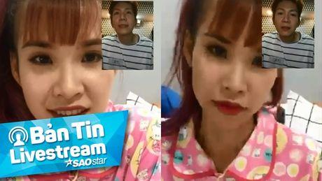 Khoi My 'ep' Kelvin Khanh mac do doi de live stream - Anh 1