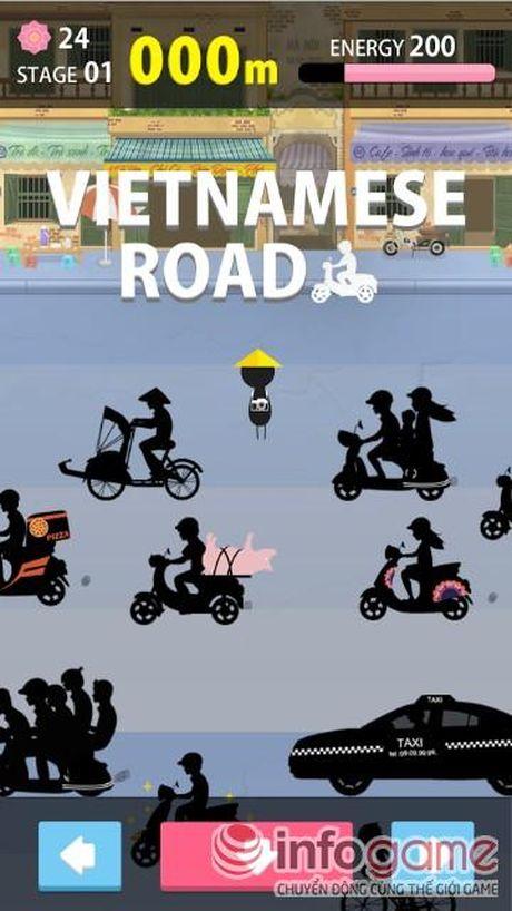 Vietnamese Road: Mang duong pho Viet len game - Anh 2