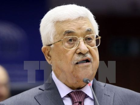 Tong thong Abbas: Palestine van chia canh tay hoa binh voi Israel - Anh 1