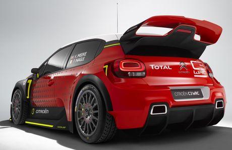 Citroen tro lai voi mau C3 WRC Concept tai WRC 2017 - Anh 4