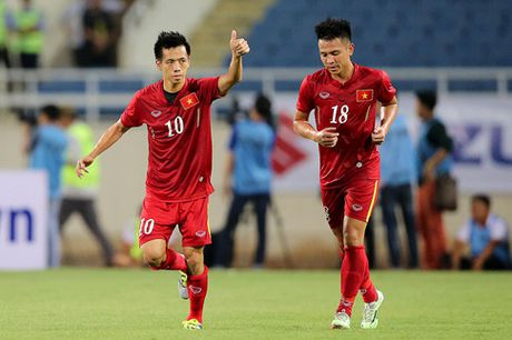DT Viet Nam giao huu voi doi thu chat luong cua K.League - Anh 1