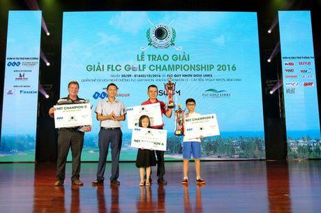 Golfer nhi bat ngo gianh chuc vo dich bang B tai FLC Golf Championship 2016 - Anh 4