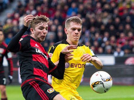 Hakan Calhanoglu toa sang, Dortmund nhan that bai thu hai trong mua giai - Anh 1