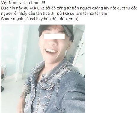 Thanh nien tam xang nhay cau va loi hua di lam tu thien - Anh 1