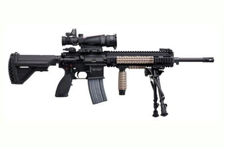 Sung truong HK-416 lai sung phong luu M320: 'Than chet la day' - Anh 2