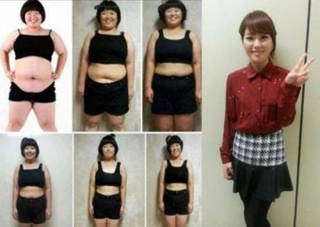 Nang beo Han Quoc giam 52 kg nho loai nuoc detox - Anh 1