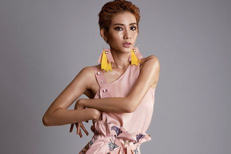 Kim Nha chac suat tro lai chung ket Vietnam's Next Top Model 2016? - Anh 1