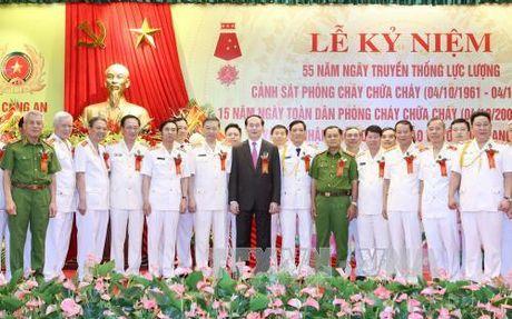 Chu tich nuoc giao nhiem vu cho luc luong Canh sat PCCC - Anh 2