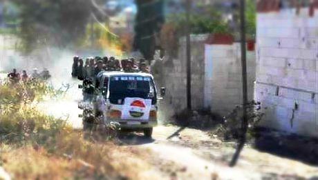 Quan doi Syria gianh kiem soat mo da Bakarah bac Aleppo - Anh 1