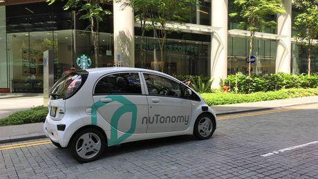 Da co the dat cho xe hoi tu lai Grab o Singapore - Anh 1