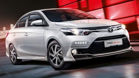 Toyota Vios 2016 nang cap tai Malaysia - Anh 2