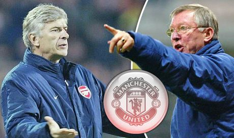 Tiet lo soc: Wenger tung suyt ve MU, the chan Sir Alex - Anh 1