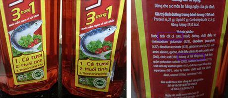 Chat luong nuoc mam: Nguoi tieu dung can biet minh dang an gi - Anh 2