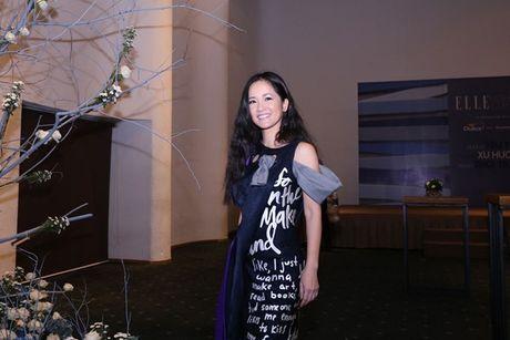 Dan Hoa hau, A hau 'do bo' tham do dem cuoi Elle Fashion - Anh 14