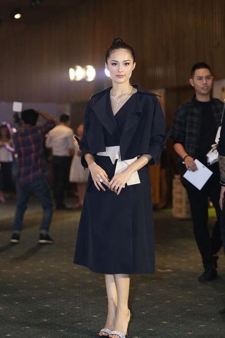 Dan Hoa hau, A hau 'do bo' tham do dem cuoi Elle Fashion - Anh 3