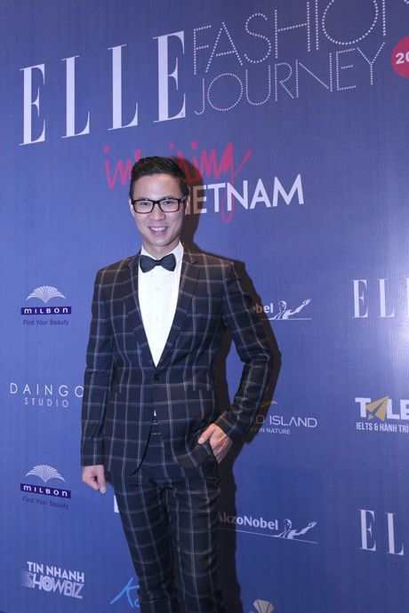 Dan Hoa hau, A hau 'do bo' tham do dem cuoi Elle Fashion - Anh 9