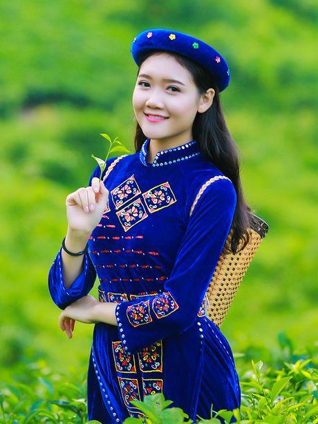 Thi sinh iMiss Thang Long rang ro sac ao dan toc ben doi che - Anh 21