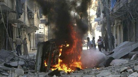 Aleppo bi nem bom thung - Anh 1