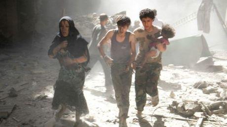 Aleppo bi nem bom thung - Anh 2