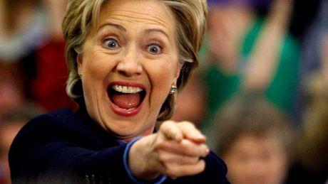 Ba Hillary Clinton van dong duoc so tien ky luc - Anh 1