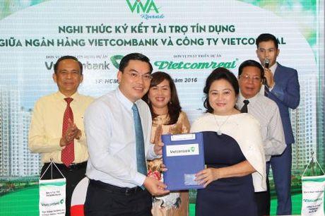 Vietcombank 'bom' gan 1.500 ty dong cho nhieu du an bat dong san - Anh 1