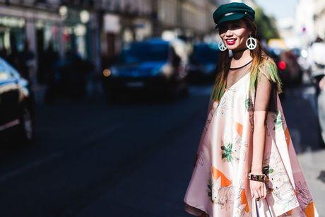 Trong thiet ke Do Manh Cuong, fashionista ThyThu lot top 10 street style tai Paris Fashion week - Anh 12