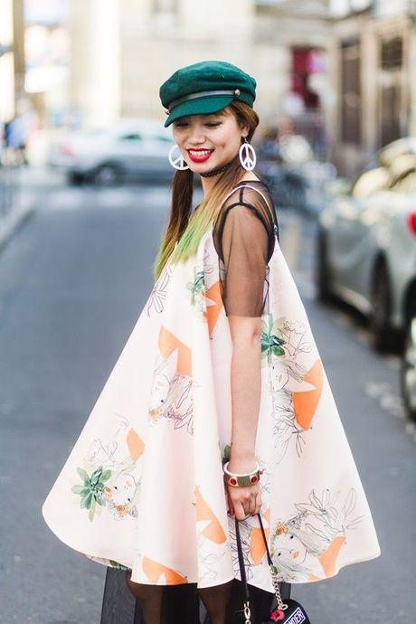 Trong thiet ke Do Manh Cuong, fashionista ThyThu lot top 10 street style tai Paris Fashion week - Anh 16