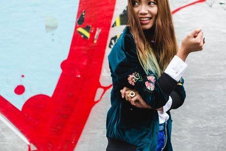 Trong thiet ke Do Manh Cuong, fashionista ThyThu lot top 10 street style tai Paris Fashion week - Anh 21