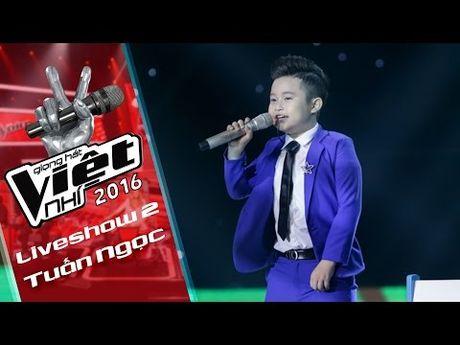 Nhung tiet muc 'don tim' fan cua soai ca nhi Chu Tuan Ngoc tai Giong hat Viet nhi 2016 - Anh 9