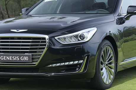 Can canh Genesis G90 vua ve Viet Nam - Anh 10