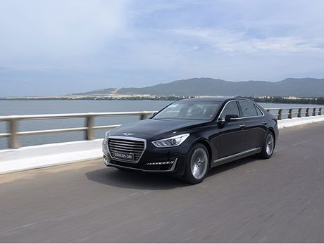 Can canh Genesis G90 vua ve Viet Nam - Anh 11