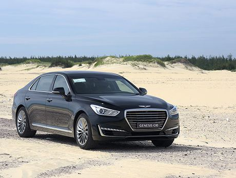 Can canh Genesis G90 vua ve Viet Nam - Anh 12