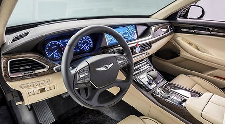 Can canh Genesis G90 vua ve Viet Nam - Anh 4