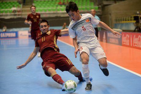 Tuyen Viet Nam gianh giai Fair Play tai futsal World Cup - Anh 2