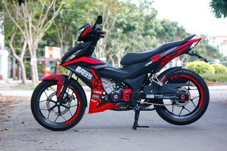 Honda Winner 150 do dan vo tong do noi bat o Binh Phuoc - Anh 1