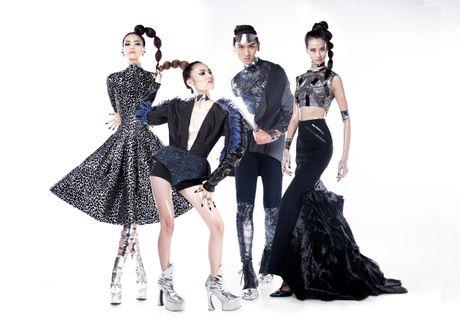 Ngoc Chau vuot co gai 1,55 m de dang quang Next Top Model - Anh 1