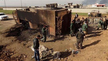 My khong kich 'hoa vang' 13 chi huy IS tai Mosul - Anh 1