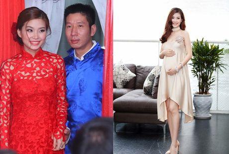 'Doi thu' cua Ky Duyen, Huyen My vua sinh con dau long cho chong dai gia - Anh 1